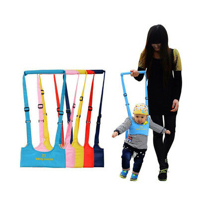 Learning Walk Baby Toddler Walking Assistant Reins Harness Walker Wings Safety