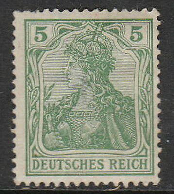 Stamp Germany Reich Mi 070 Sc 067 1902 Germania Empire Imperial Crown Post MH