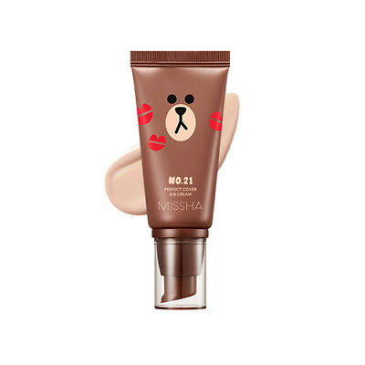 [Missha] Line Friends Edition Perfect Cover BB Cream 50ml SPF42 PA+++