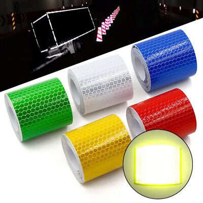 Warning Reflective Safety Tape Adhesive Sticker For Truck Car Caution 5CM