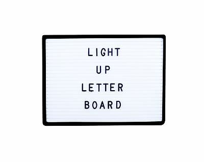 Light Up A4 LED PEG Letter Board Retro Includes 170 Letters and Symbols