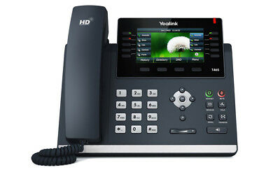 NEW Yealink SIP-T46S Ultra-Elegant Gigabit IP Phone (Black)