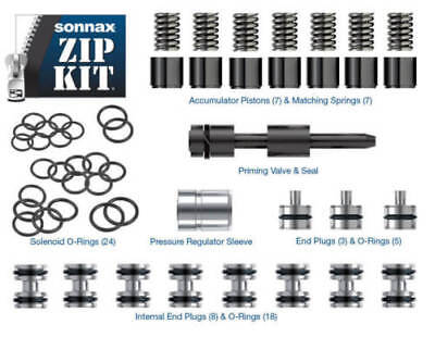 Sonnax ZF6 GEN2ZIP Zip Kit  ZF6-GEN2-ZIP with SEALING TUBES ADDED