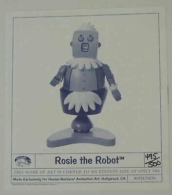 ESZ9266. Jetsons Maquette Statue ROSIE THE ROBOT L/E 493 of 500 (1996) SEALED