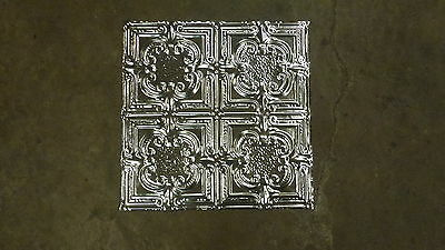 12-02  10  2' x 2' Tin Plated Steel Sheets. Victorian Design Tin Ceilings WoW!