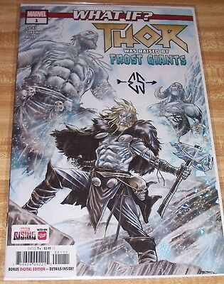 What If? Thor #1! (2018) Signed by Writer Ethan Sacks! NM! COA!