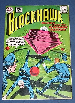 Blackhawk #168  Jan 1962