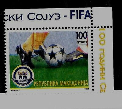 MACEDONIA Sc 309 NH issue of 2004 - World Cup