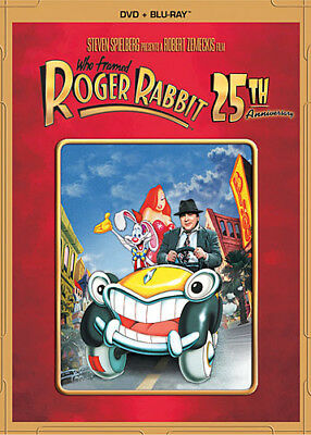 WHO FRAMED ROGER RABBIT New Sealed Blu-ray + DVD 25th Anniversary Edition