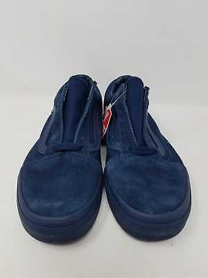 50977f1b5711 Vans Old Skool Mono Dress Blues Suede Canvas Men s Size 5 Women s 6.5 New  Wob