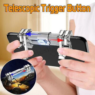 For PUBG Mobile Phone Game Gamepad Trigger Gaming L1R1 Fire Shooter Controller