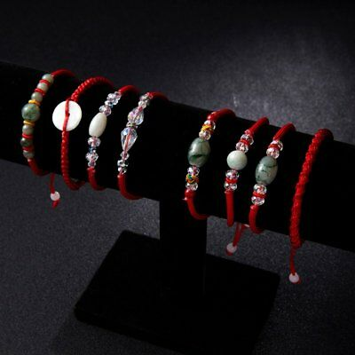 Lucky Red Rope Natural Stone Bracelet Women Charm Gift Trendy Jewelry Party New