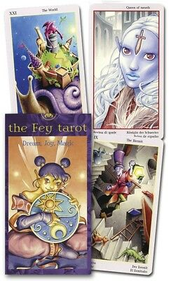 FEY TAROT FAIRY Deck Card Set faerie oracle witch pagan wicca wiccan cards