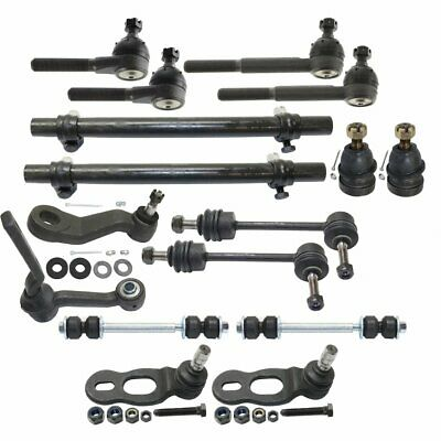 New 10pc Front Suspension Kit For Ford Crown Victoria Town Car Grand