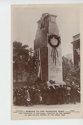 Laying Wreaths at The Cenotaph, Whitehall, London