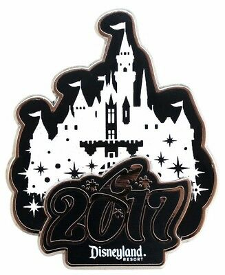 2017 Disney Dated Collection Sleeping Beauty Castle Pin
