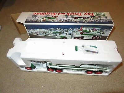 2002 Hess Truck Toy Truck And Airplane MIB See My Store