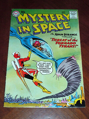 MYSTERY IN SPACE #61  (1960). FINE cond. EARLY ADAM STRANGE, INFANTINO  ULTHOON