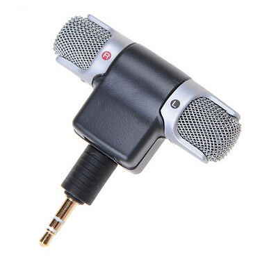 Outdoor portable Mini Recorder Stereo Microphone Mic for Laptop PC Phone Android
