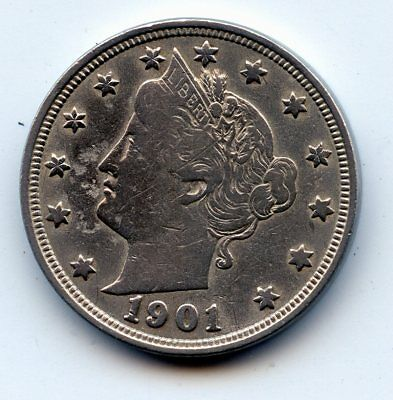 1901-p Liberty head Nickel (SEE PROMOTION)