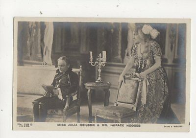 Actors Julia Neilson & Horace Hodges Vintage RP Postcard 326b