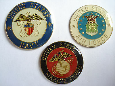 Sale Marine Corps Air Force Navy Seals Us Marines Army War Usa Set Pin Badge Lot