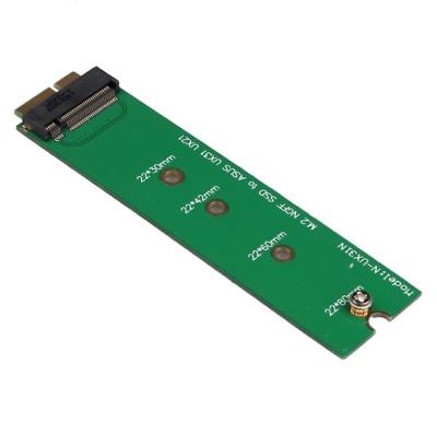 M2 NGFF SSD To 18 16+2 Pin Adapter Card for Zenbook SSD Applied Asus UX31 UX21