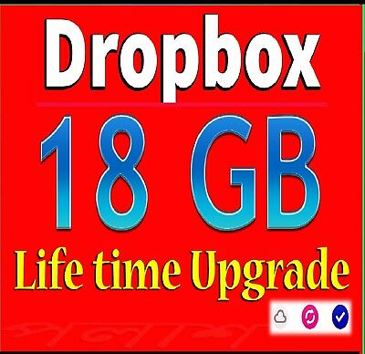 Upgrade Dropbox Account to 18GB For Lifetime [ SPECIAL OFFER - REFERRAL SERVICE]