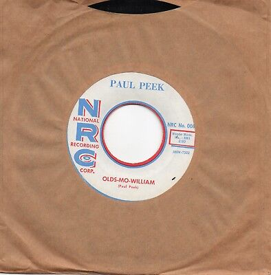 Paul Peek - Olds-Mo-William / I'm Not Your Fool Anymore