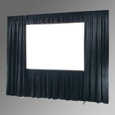 DRAPER 242140 - ULTIMATE FOLDING SCREEN UFS 112x196 COMPLETE DRESS KIT WITH CASE