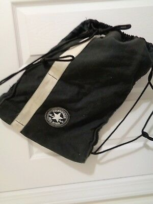 CONVERSE CINCH BAG Drawstring Gym Bag Backpack Color Black -  13.95 ... 90e3c73c9eed2