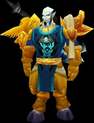 TABARD OF FROST - BLUE - WORLD OF WARCRAFT @ WOW LOOT ude EPIC 100% guarantee