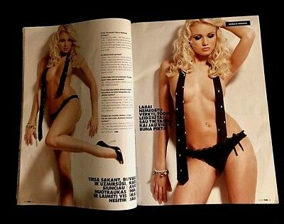 2009 Fhm Lithuania Magazine W/ 7 Pgs Frank Zappa Mothers Of Invention + Photos