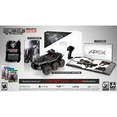 Xbox One Xb1 Video Game Homefront Revolution Collector's Goliath Edition New