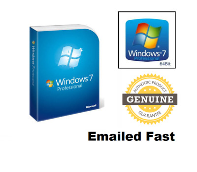 Windows 7 Professional 32&64 bit Activation GENUINE KEY +Windows ISO - FAST SHIP