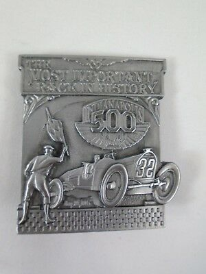2011 Indianapolis 500 Pit Badge Belt Buckle Limited Edition 100th Anniversary