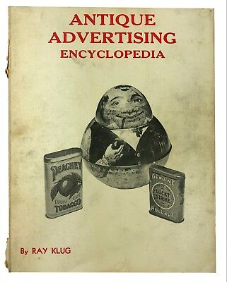 Vintage Antique Advertising Encyclopedia Ray Klug 1978 Price Lists Included