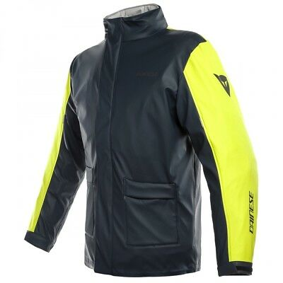 Dainese Storm Fluo Yellow Motorcycle Motorbike Waterproof Jacket