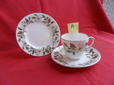 Wedgwood Beaconsfield, Tea Trio (Teacup, Saucer & Teaplate) A