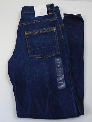 Boys Gap Kids 1969 Adjustable Waist Straight Size 12 NWT