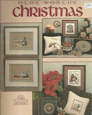 Olde Worlde Christmas Cross stitch  Booklet