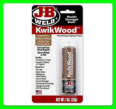 JB Weld Kwikwood Wood Epoxy Putty 28 gram [JB8257]