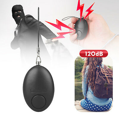 Anti-Rape Device Alarm Loud Alert Attack Panic Keychain Safety Personal Security