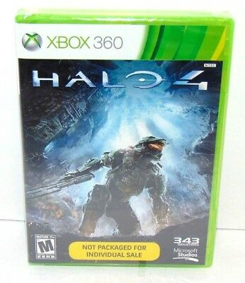 Halo 4 Microsoft Xbox 360 Brand New Unopened Factory Sealed! Ships Fast! Thanks!