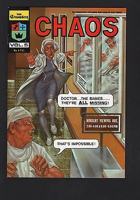 Crusaders #5 Chaos Chick Publications VF- 7.5 White Pages