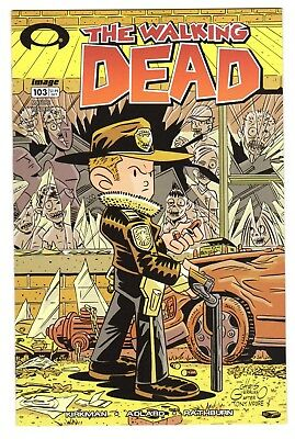 The Walking Dead #103 Giarusso Variant - Image Comics - 1st Print VF/NM