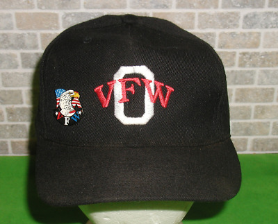 703908fe7f885 Vintage Orrville Ohio VFW Veterans of Foreign Wars Snap-Back Hat Plus Pin