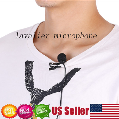 Clip-on Lavalier Omni-directional Condenser Microphone for Smartphone