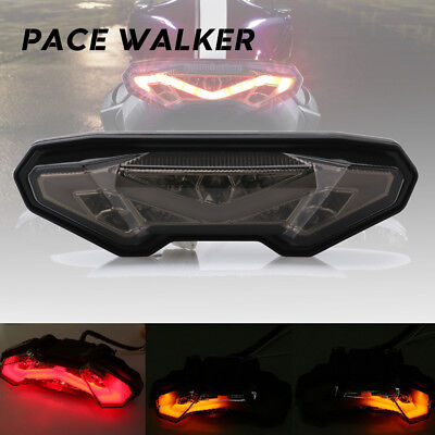 Motorcycle Taillight Turn Signal Light Rear Stop LED for Yamaha MT 09 FZ09 2014