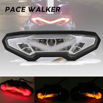 Motorcycle Tail Light Rear Turn Signal Stop Integrated LED for Yamaha MT 09 2014